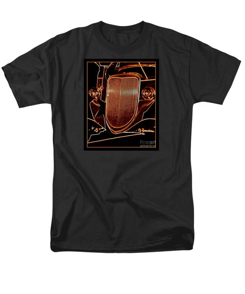 Men's T-Shirt  (Regular Fit) featuring the photograph Copper Works by Bobbee Rickard