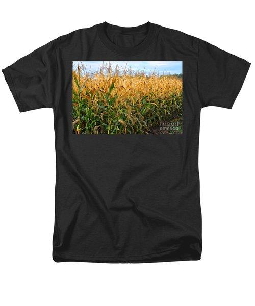 Corn Harvest Men's T-Shirt  (Regular Fit) by Terri Gostola