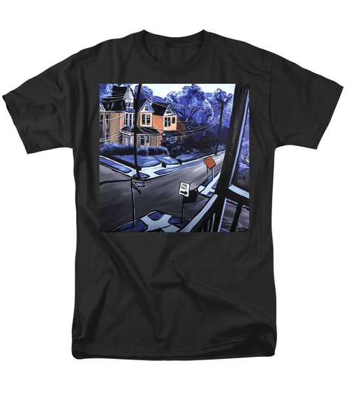Men's T-Shirt  (Regular Fit) featuring the painting Corner View by Jennifer Noren