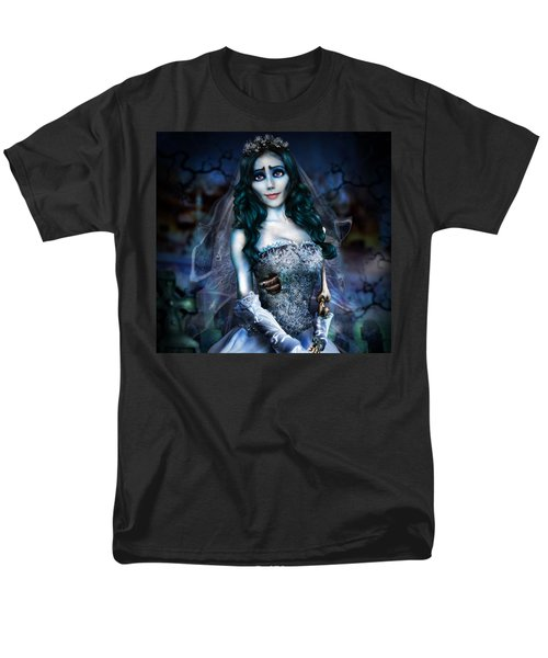 Corpse Bride Men's T-Shirt  (Regular Fit) by Alessandro Della Pietra