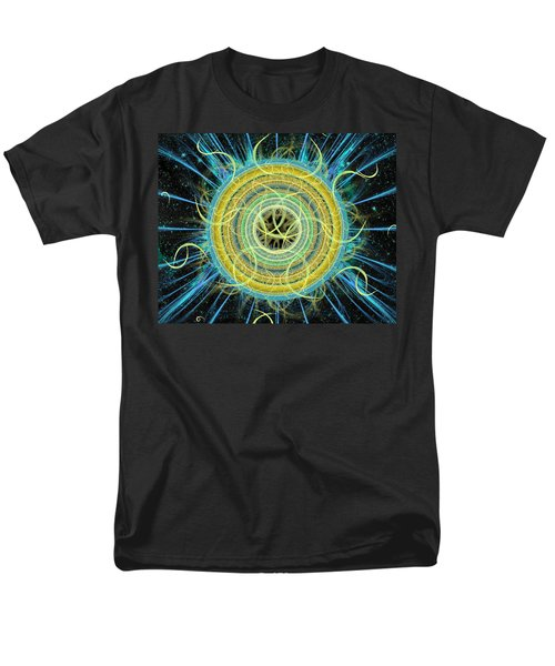 Cosmic Circle Fusion Men's T-Shirt  (Regular Fit) by Shawn Dall