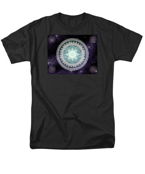 Cosmic Medallions Water Men's T-Shirt  (Regular Fit) by Shawn Dall