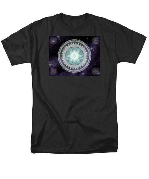 Cosmic Medallions Water Men's T-Shirt  (Regular Fit)
