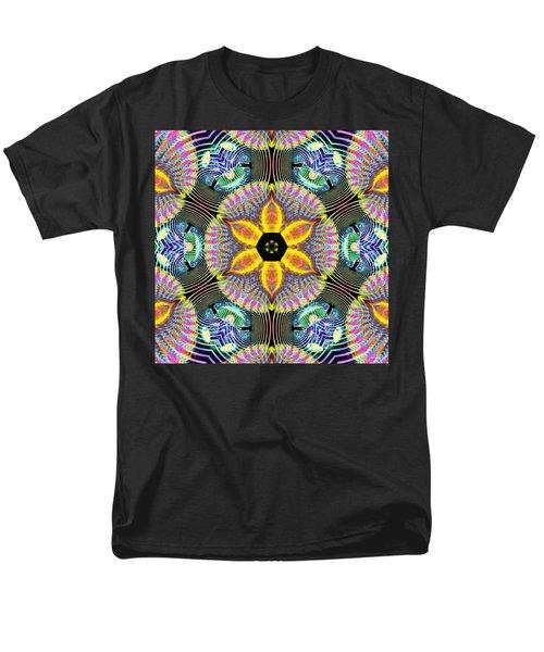 Cosmic Spiral Kaleidoscope 13 Men's T-Shirt  (Regular Fit)