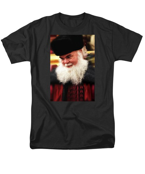 Men's T-Shirt  (Regular Fit) featuring the photograph Cossack Santa by Nadalyn Larsen