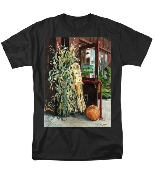 Men's T-Shirt  (Regular Fit) featuring the painting Country Store by Barbara Jewell