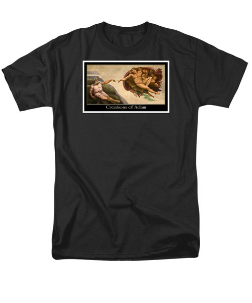 Men's T-Shirt  (Regular Fit) featuring the digital art Creations Of Adam by Scott Ross