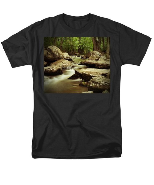 Creek At St. Peters Men's T-Shirt  (Regular Fit) by Michael Porchik
