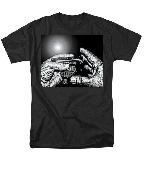 Cross-harp Blues Men's T-Shirt  (Regular Fit) by Robert Frederick