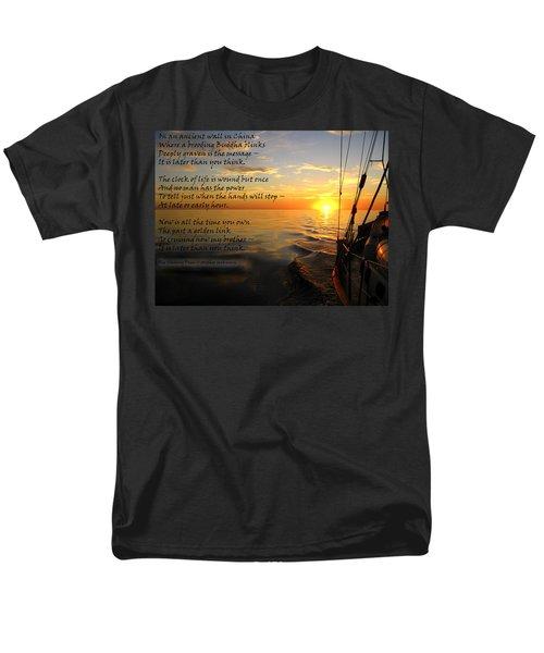 Cruising Poem Men's T-Shirt  (Regular Fit)