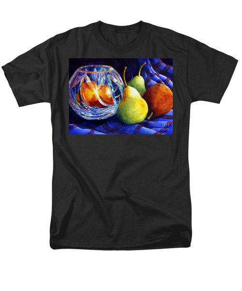 Crystal And Pears Men's T-Shirt  (Regular Fit) by Roger Rockefeller