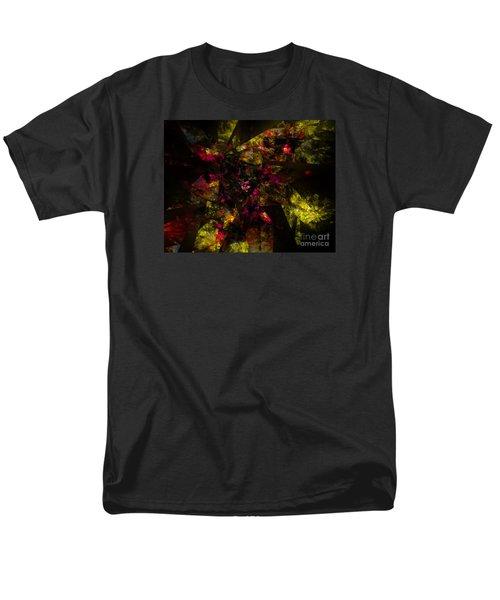 Men's T-Shirt  (Regular Fit) featuring the digital art Crystal Inspiration #1 by Olga Hamilton