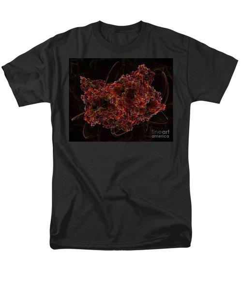 Men's T-Shirt  (Regular Fit) featuring the digital art Crystal Inspiration #2 by Olga Hamilton
