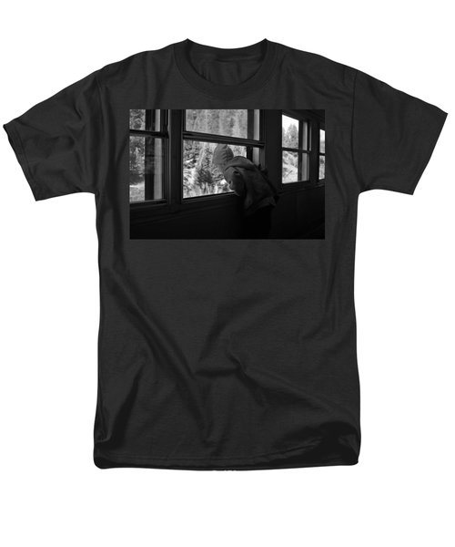 Men's T-Shirt  (Regular Fit) featuring the photograph Curious by Jeremy Rhoades