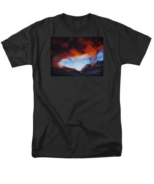 Curves On The Horizon Men's T-Shirt  (Regular Fit) by Craig Burgwardt