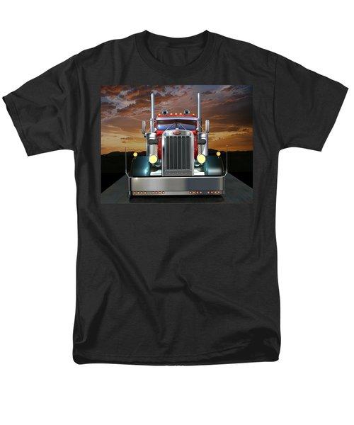 Custom Peterbilt Men's T-Shirt  (Regular Fit) by Stuart Swartz