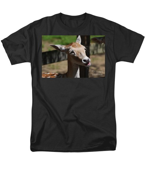 Cute Deer Men's T-Shirt  (Regular Fit) by DejaVu Designs