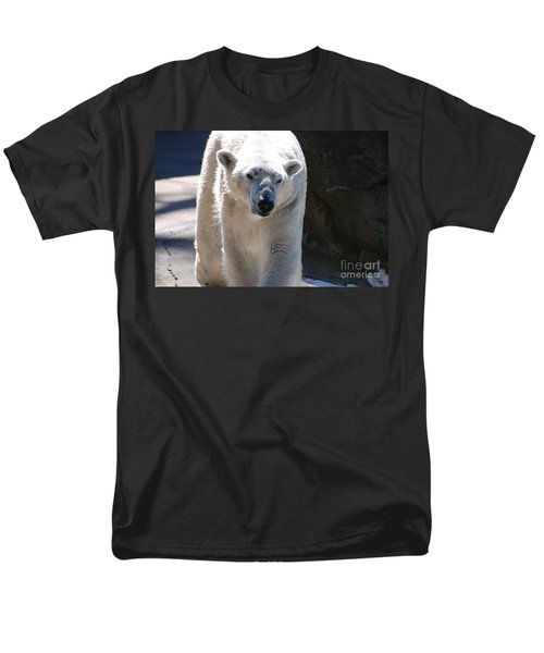 Cute Polar Bear  Men's T-Shirt  (Regular Fit) by DejaVu Designs