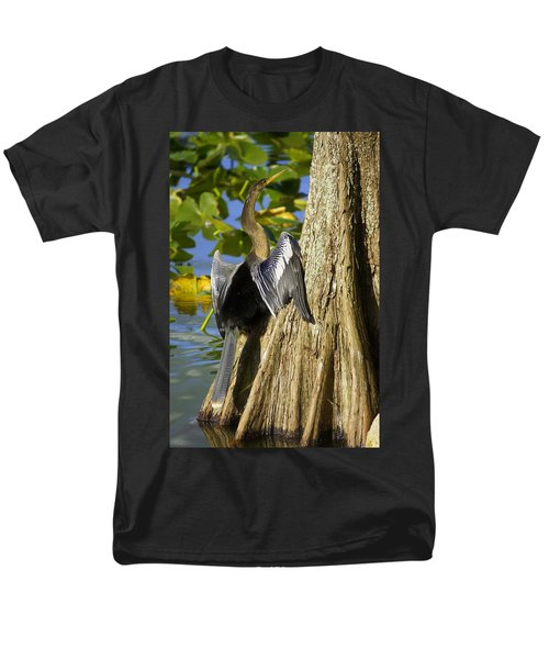 Cypress Bird Men's T-Shirt  (Regular Fit) by Laurie Perry