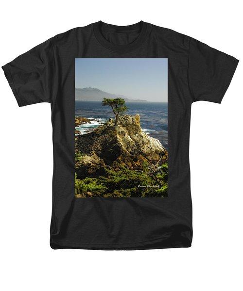 Cypress Men's T-Shirt  (Regular Fit) by Donna Blackhall