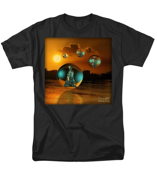 Cyrstal Children Of Sun Men's T-Shirt  (Regular Fit) by Rosa Cobos