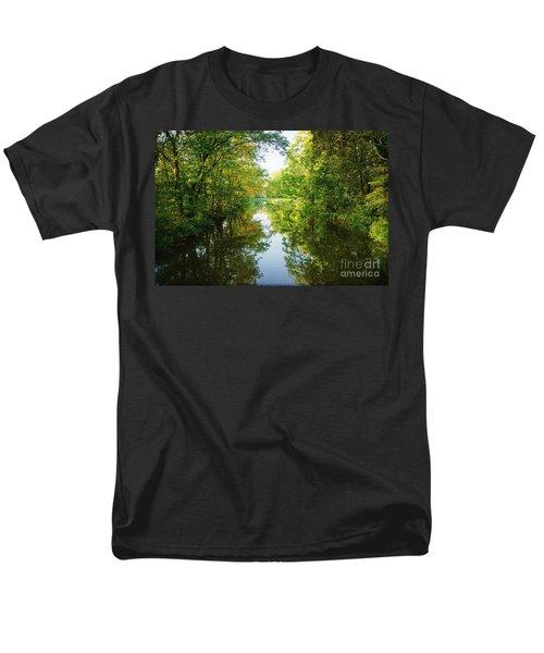 D And R Canal  Men's T-Shirt  (Regular Fit) by Debra Fedchin
