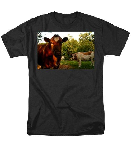 Dads Cows Men's T-Shirt  (Regular Fit) by Lon Casler Bixby