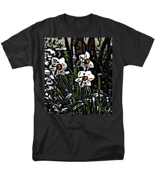 Men's T-Shirt  (Regular Fit) featuring the digital art Daffodil by David Lane