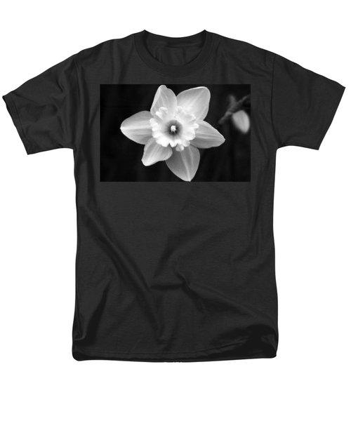 Daffodils - Infrared 01 Men's T-Shirt  (Regular Fit) by Pamela Critchlow