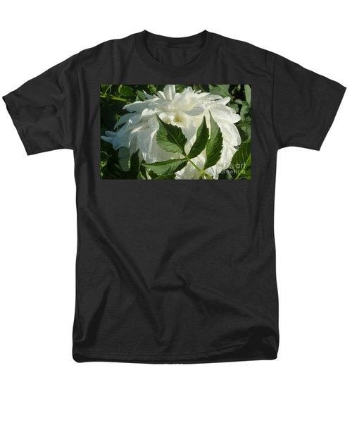 Men's T-Shirt  (Regular Fit) featuring the photograph Dahlia Delicate Dancer by Susan Garren