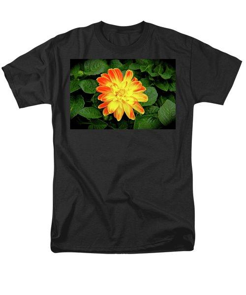 Dahlia Men's T-Shirt  (Regular Fit) by Ed  Riche