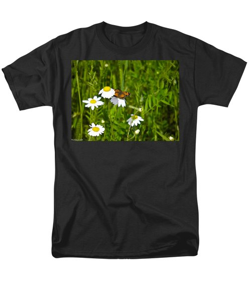 Daisey And Butterfly Men's T-Shirt  (Regular Fit) by Nick Kirby