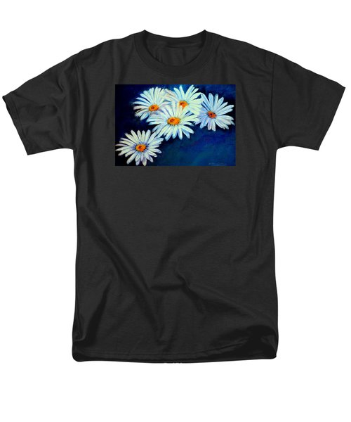 Men's T-Shirt  (Regular Fit) featuring the pastel Daisy Fever  Pastel by Antonia Citrino