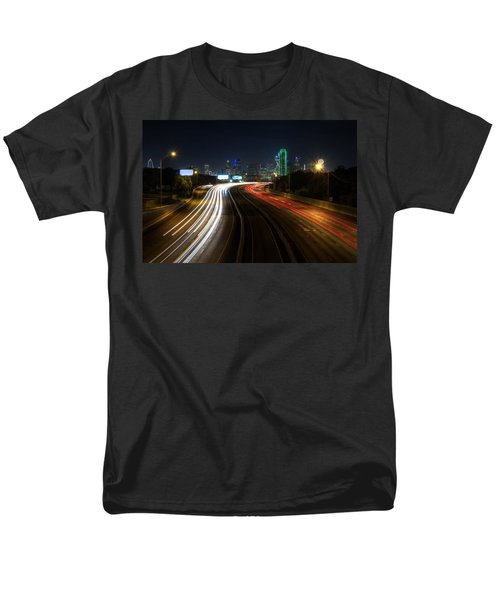 Dallas Night Light Men's T-Shirt  (Regular Fit) by Jonathan Davison