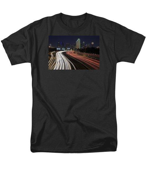 Dallas Night Men's T-Shirt  (Regular Fit) by Rick Berk