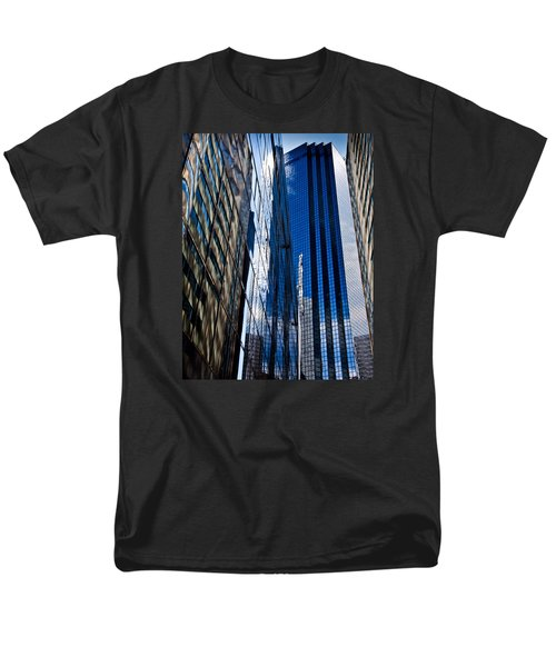 Dallas Reflections Men's T-Shirt  (Regular Fit) by Mark Alder