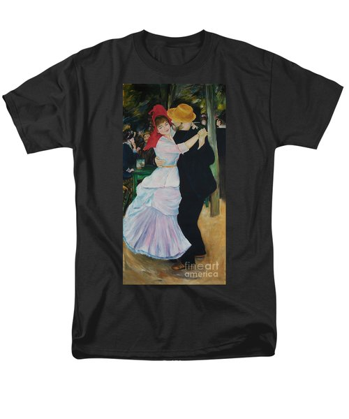 Men's T-Shirt  (Regular Fit) featuring the painting Dance At Bougival Renoir by Eric  Schiabor