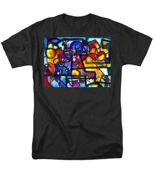 Dance Of The Gauge Bosons In Vacuum Men's T-Shirt  (Regular Fit) by Regina Valluzzi
