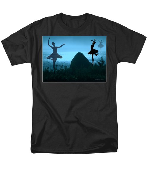 Men's T-Shirt  (Regular Fit) featuring the photograph Dance Of The Sea by Joyce Dickens