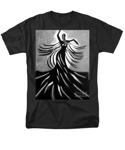 Men's T-Shirt  (Regular Fit) featuring the painting Dancer 2 by Anita Lewis