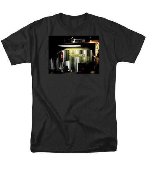 Danger Men Cooking Men's T-Shirt  (Regular Fit) by Chris Berry
