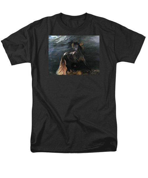 Dappled Horse In Stormy Light Men's T-Shirt  (Regular Fit) by LaVonne Hand