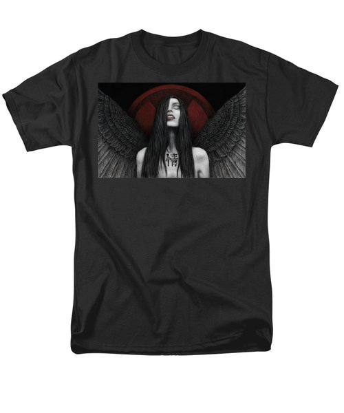 Men's T-Shirt  (Regular Fit) featuring the painting Dark Angel by Pat Erickson