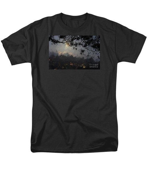 Dark Rain Men's T-Shirt  (Regular Fit) by The Art of Alice Terrill