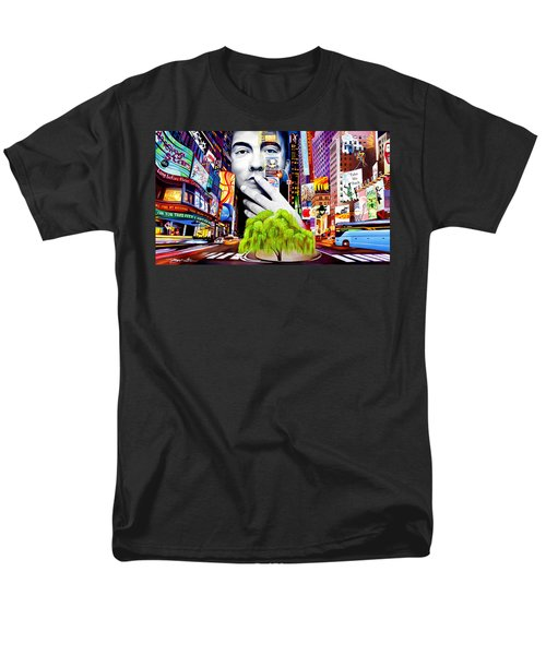 Dave Matthews Dreaming Tree Men's T-Shirt  (Regular Fit) by Joshua Morton
