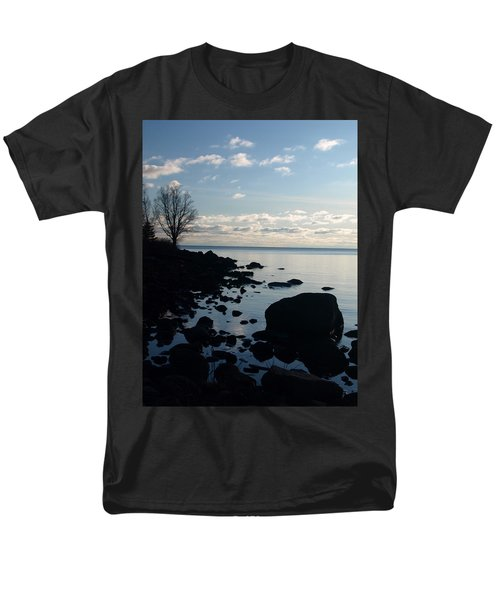 Men's T-Shirt  (Regular Fit) featuring the photograph Dawn At The Cove by James Peterson