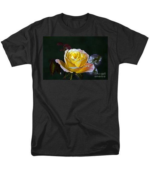 Men's T-Shirt  (Regular Fit) featuring the photograph Day Breaker Rose by Kate Brown