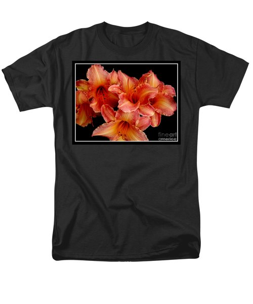 Men's T-Shirt  (Regular Fit) featuring the photograph Daylilies 1 by Rose Santuci-Sofranko