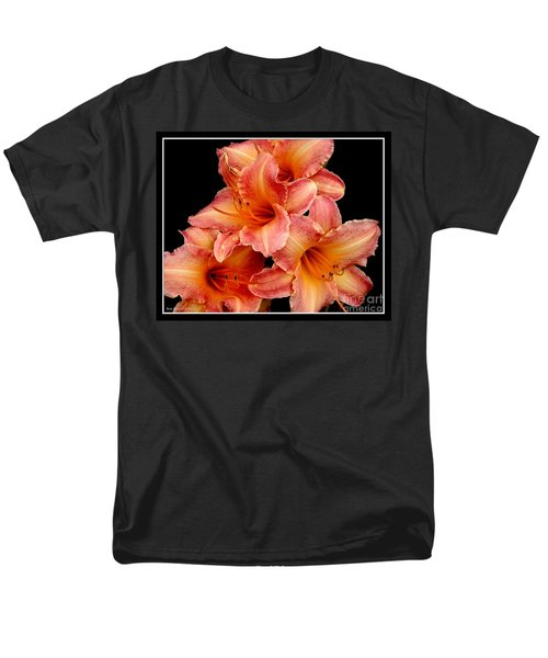 Men's T-Shirt  (Regular Fit) featuring the photograph Daylilies 2 by Rose Santuci-Sofranko