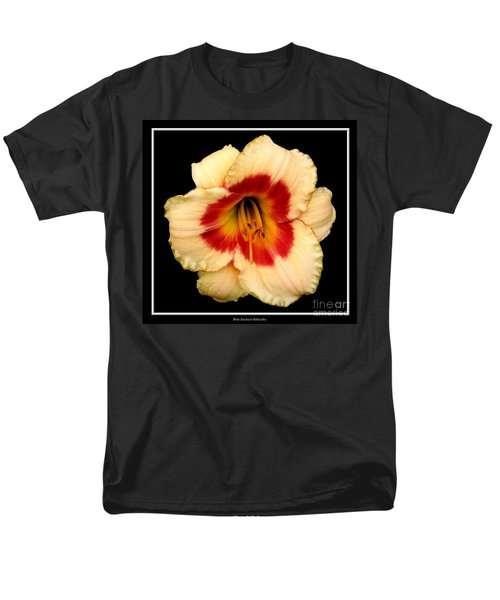 Men's T-Shirt  (Regular Fit) featuring the photograph Daylily 3 by Rose Santuci-Sofranko